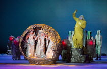 DAS RHEINGOLD   by Wagner   conductor: Valery Gergiev   set design: George Tsypin   costumes: Tatiana Noginova   lighting: Gleb Filshtinsky   production concept: Valery Gergiev & George Tsypin   (rig...
