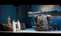 DAS RHEINGOLD   by Wagner   conductor: Valery Gergiev   set design: George Tsypin   costumes: Tatiana Noginova   lighting: Gleb Filshtinsky   production concept: Valery Gergiev & George Tsypin ~l-r: A...