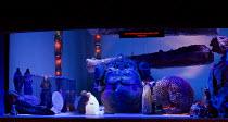 DAS RHEINGOLD   by Wagner   conductor: Valery Gergiev   set design: George Tsypin   costumes: Tatiana Noginova   lighting: Gleb Filshtinsky   production concept: Valery Gergiev & George Tsypin ~front...