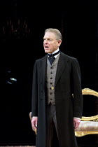 AN IDEAL HUSBAND   by Oscar Wilde   design: Simon Higlett   lighting: Howard Harrison   director: Rachel Kavanaugh ~~Edward Fox (The Earl of Caversham)~Chichester Festival Theatre (CFT) / West Sussex,...