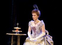 AN IDEAL HUSBAND   by Oscar Wilde   design: Simon Higlett   lighting: Howard Harrison   director: Rachel Kavanaugh ~~Laura Rogers (Lady Chiltern)~Chichester Festival Theatre (CFT) / West Sussex, Engla...
