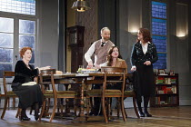 3 WINTERS   by Tena Stivicic   design: Tim Hatley   lighting: James Farncombe   director: Howard Davies  1990 - sc.7 - l-r: Susan Engel (Karolina), Adrian Rawlins (Vlado Kos), Lucy Black (Dunya Kos),...