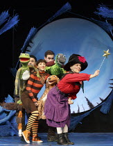 ROOM ON THE BROOM   based on the book by Julia Donaldson & Axel Scheffler   design: Morgan Large   lighting: James Whiteside   director: Olivia Jacobs front, l-r: (in striped top) Emma MacLennan (Cat)...