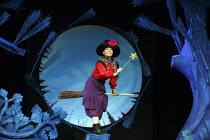 ROOM ON THE BROOM   based on the book by Julia Donaldson & Axel Scheffler   design: Morgan Large   lighting: James Whiteside   director: Olivia Jacobs Yvette Clutterbuck (Witch)Lyric Theatre, London W...