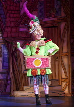 CINDERELLA   written by Eric Potts   choreographer: Lizzi Gee   director: Ian Talbot Matthew Rixon (Ugly Sister)New Wimbledon Theatre, London SW19  f09/12/2014  Donald Cooper/Photostage   donald@photo...