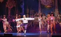 CINDERELLA   written by Eric Potts   choreographer: Lizzi Gee   director: Ian Talbot Wayne Sleep (Dandini)New Wimbledon Theatre, London SW19   09/12/2014 Donald Cooper/Photostage   donald@photostage.c...