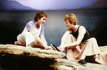WHEN I WAS A GIRL, I USED TO SCREAM AND SHOUT   by Sharman Macdonald   design: Robin Don   director: Simon Stokes   l-r: Celia Imrie (Vari), Eleanor David (Fiona)  Bush Theatre, London W12   07/11/198...