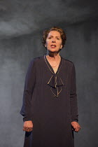 TAKEN AT MIDNIGHT   by Mark Hayhurst   design: Robert Jones   lighting: Tim Mitchell   director: Jonathan Church Penelope Wilton (Irmgard Litten) Chichester Festival Theatre 2014 production / Theatre...