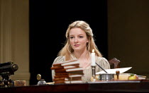 ARCADIA   by Tom Stoppard   design: Jonathan Fensom   lighting: Johanna Town   director: Blanche McIntyre ~~Dakota Blue Richards (Thomasina Cloverly)~English Touring Theatre (ETT) & Theatre Royal Brig...