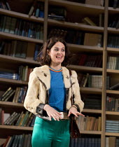 EDUCATING RITA   by Willy Russell   design: Conor Murphy   lighting: Mark Doubleday   director: Gemma Bodinetz Leanne Best (Rita)Liverpool Playhouse, Liverpool   England   10/02/2015...