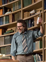 EDUCATING RITA   by Willy Russell   design: Conor Murphy   lighting: Mark Doubleday   director: Gemma Bodinetz Con O'Neill (Frank)Liverpool Playhouse, Liverpool   England   10/02/2015...