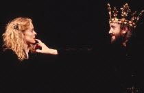 MACBETH  by Shakespeare   design: Bob Crowley   lighting: Mark Henderson   director: Adrian Noble ~Sinead Cusack (Lady Macbeth), Jonathan Pryce (Macbeth) ~Royal Shakespeare Company (RSC), Royal Shakes...