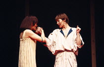 ANTONY AND CLEOPATRA   by Shakespeare   design: Sally Jacobs   director: Peter Brook l-r: Paola Dionisotti (Charmian), Glenda Jackson (Cleopatra)Royal Shakespeare Company (RSC) / Royal Shakespeare The...