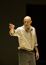 A VIEW FROM THE BRIDGE   by Arthur Miller   set & lighting design: Jan Versweyveld   costumes: An D'Huys   director: Ivo Van Hove Mark Strong (Eddie Carbone)Young Vic 2014 production / Wyndham's Theat...