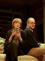 A DELICATE BALANCE   by Edward Albee   design: Carl Toms   lighting: Howard Harrison   director: Anthony Page   Maggie Smith (Claire), John Standing (Tobias)  Theatre Royal Haymarket (TRH), London SW1...