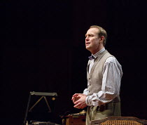 THE KING'S SPEECH   by David Seidler   design: Tom Piper   lighting: Oliver Fenwick   director: Roxanna Silbert   Jason Donovan (Lionel Logue)  co-production with Chichester Festival Theatre / Birming...