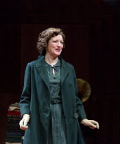 THE KING'S SPEECH   by David Seidler   design: Tom Piper   lighting: Oliver Fenwick   director: Roxanna Silbert   Katy Stephens (Myrtle Logue) co-production with Chichester Festival Theatre / Birmingh...