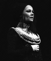 THE DUCHESS OF MALFI   by John Webster   design: Farrah   lighting: Michael J White   director: Clifford Williams ~Judi Dench (The Duchess of Malfi)~Royal Shakespeare Company (RSC) / Royal Shakespeare...