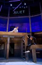 ROMEO + JULIET   by Shakespeare   composer: Benji Bower   design: Katie Sykes   lighting: Aideen Malone   movement: Dan Canham   fights: Renny Krupinski   director: Sally Cookson Act 2 sc. 2 - balcony...