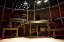 ROMEO + JULIET   by Shakespeare   composer: Benji Bower   design: Katie Sykes   lighting: Aideen Malone   movement: Dan Canham   fights: Renny Krupinski   director: Sally Cookson stage,set,full,empty,...