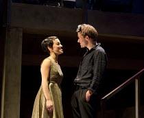 ROMEO + JULIET   by Shakespeare   composer: Benji Bower   design: Katie Sykes   lighting: Aideen Malone   movement: Dan Canham   fights: Renny Krupinski   director: Sally Cookson Audrey Brisson (Julie...