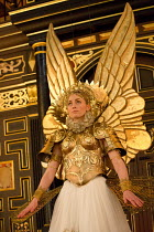 THE BROKEN HEART   by John Ford   design: Max Jones   director: Caroline Steinbeis Sarah MacRae (Calantha)Sam Wanamaker Playhouse / Shakespeare's Globe (SG), London SE1   18/03/2015...