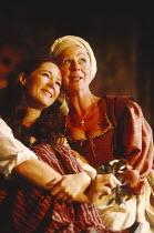 ROMEO AND JULIET   by Shakespeare   design: Alison Chitty   lighting: Jean Kalman   director: David Leveaux l-r: Claire Holman (Juliet), Sheila Reid (Nurse)Royal Shakespeare Company (RSC), Royal Shake...