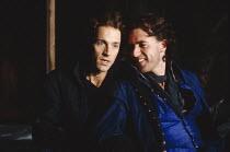 ROMEO AND JULIET   by Shakespeare   design: Alison Chitty   lighting: Jean Kalman   director: David Leveaux l-r: Michael Maloney (Romeo), Kevin Doyle (Benvolio)Royal Shakespeare Company (RSC), Royal S...