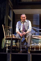 DEATH OF A SALESMAN   by Arthur Miller   design: Stephen Brimson Lewis   lighting: Tim Mitchell   director: Gregory Doran Antony Sher (Willy Loman)Royal Shakespeare Company (RSC) / Royal Shakespeare T...