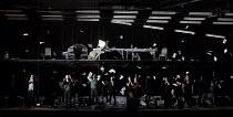BETWEEN WORLDS   music: Tansy Davies   libretto: Nick Drake   conductor: Gerry Cornelius   set design: Michael Levine   costumes: Brigitte Reiffenstuel   lighting: Jean Kalman   video design: Tal Yard...