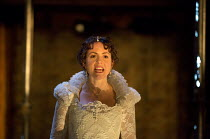 LOVE'S SACRIFICE   by John Ford   design: Anna Fleischle   lighting: Lee Curran   director: Matthew Dunster Catrin Stewart (Bianca)Royal Shakespeare Company (RSC) / Swan Theatre, Stratford-upon-Avon,...