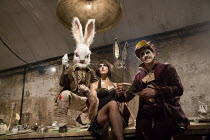 ALICE'S ADVENTURES UNDERGROUND   after Lewis Carroll   adapted for the stage & written by Oliver Lansley & Anthony Spargo   design: Samuel Wyer & Max Humphries   lighting: Mike Gunning   directors: Ol...