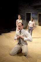 AH WILDERNESS!   by Eugene O'Neill   set design: Dickie Bird   costumes: Sussie Juhlin-Wallen   lighting: Charles Balfour   director: Natalie Abrahami front: David Annen (character unspecified)   with...