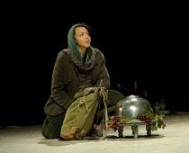 LIGHT SHINING IN BUCKINGHAMSHIRE   by Caryl Churchill   set design: Es Devlin   costumes: Soutra Gilmour   lighting: Bruno Poet   director: Lyndsey Turner Adelle Leonce (Hoskins)Lyttelton Theatre / Na...