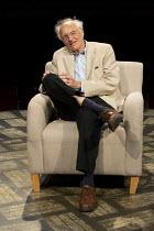 MATCHBOX THEATRE   by Michael Frayn   design: Polly Sullivan   lighting: David Howe   director: Hamish McColl ~Michael Frayn: author,dramatist~Hampstead Theatre (HT), London NW3   04/05/2015        ~(...