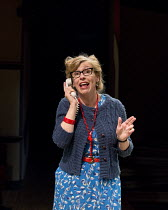 MATCHBOX THEATRE   by Michael Frayn   design: Polly Sullivan   lighting: David Howe   director: Hamish McColl 'A Little Bit About Myself': Esther ColesHampstead Theatre (HT), London NW3   04/05/2015...