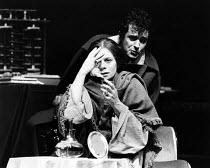 CHILDE BYRON   by Romulus Linney   design: Carl Toms   lighting: John B. Read   director: Frank Dunlop   Sara Kestelman (Augusta Ada, Lady of Lovelace), David Essex (Lord Byron) The Young Vic (YV),...