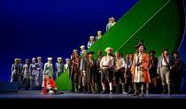 THE PIRATES OF PENZANCE   music: W.S. Gilbert   libretto: Arthur Sullivan   conductor: David Parry   design: Alison Chitty   lighting: Paul Pyant   choreographer: Francesca Jaynes   director: Mike Lei...