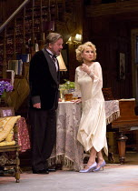 HAY FEVER   by Noel Coward   design: Peter McKintosh   lighting: Paul Pyant   director: Lindsay Posner Simon Shepherd (David Bliss), Felicity Kendal (Judith Bliss) a Theatre Royal Bath production / Du...