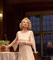 HAY FEVER   by Noel Coward   design: Peter McKintosh   lighting: Paul Pyant   director: Lindsay Posner ~Felicity Kendal (Judith Bliss) ~a Theatre Royal Bath production / Duke of York's Theatre, London...