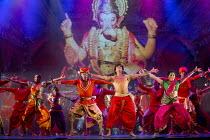 BEYOND BOLLYWOOD   written, choreographed & directed by Rajeev Goswami   original score: Salim-Sulaiman   lyrics: Irfan Siddiqui   front centre: Mohit Mathur (Raghav)   right: Ana Ilmi (Shaily Shergil...