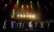 BEYOND BOLLYWOOD   written, choreographed & directed by Rajeev Goswami   original score: Salim-Sulaiman   lyrics: Irfan Siddiqui   centre: Ana Ilmi (Shaily Shergill)  London Palladium, London W1   11/...