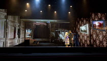 BEYOND BOLLYWOOD   written, choreographed & directed by Rajeev Goswami   original score: Salim-Sulaiman   lyrics: Irfan Siddiqui   stage,full,set,projections,interior   with Pooja Pant (The Mother), S...