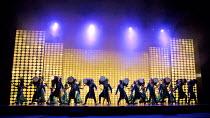 BEYOND BOLLYWOOD   written, choreographed & directed by Rajeev Goswami   original score: Salim-Sulaiman   lyrics: Irfan Siddiqui   drummers London Palladium, London W1   11/05/2015      � Donald Coope...