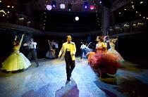 HIGH SOCIETY   music & lyrics: Cole Porter   book: Arthur Kopit   based on 'The Philadelphia Story' by Philip Barry   design: Tom Pye   lighting: Peter Mumford   choreographer: Nathan M Wright   direc...