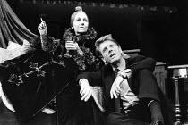 INTERPRETERS   by Ronald Harwood   set design: Farrah   costumes: Nadya Cohen   lighting: Rory Dempster   director: Peter Yates ~~Doreen Mantle (Sophia), Edward Fox (Viktor)~Queen's Theatre, London W1...