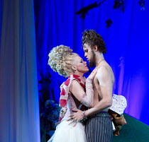COSI FAN TUTTE   by Mozart   conductor: Douglas Boyd   design: Dick Bird   lighting: Bruno Poet   director: John Fulljames Kathryn Rudge (Dorabella), Ashley Riches (Guglielmo) Garsington Opera at Worm...