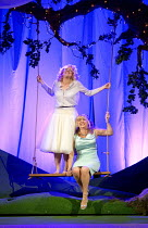 COSI FAN TUTTE   by Mozart   conductor: Douglas Boyd   design: Dick Bird   lighting: Bruno Poet   director: John Fulljames Kathryn Rudge (Dorabella), Lesley Garrett (Despina)Garsington Opera at Wormsl...