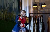 COSI FAN TUTTE   by Mozart   conductor: Douglas Boyd   design: Dick Bird   lighting: Bruno Poet   director: John Fulljames Andreea Soar (Fiordiligi) Garsington Opera at Wormsley / nr. High Wycombe, En...