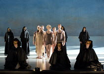 DEATH IN VENICE   music: Benjamin Britten   libretto: Myfanwy Piper   after Thomas Mann   conductor by Steuart Bedford   design: Kevin left, held horizontal: Knight   lighting: Bruno Poet   choreograp...